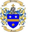 Blanchot Family Crest from France