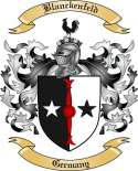 Blanckenfeld Family Crest from Germany