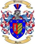 Blancos Family Crest from Spain