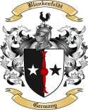 Blankenfeldt Family Crest from Germany