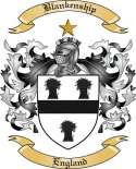 Blankenship Family Crest from England