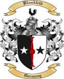 Blankfeld Family Crest from Germany