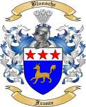 Blansche Family Crest from France