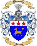 Blanschee Family Crest from France