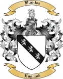 Blantoe Family Crest from England