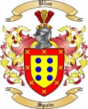 Blas Family Crest from Spain2