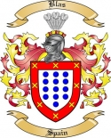 Blas Family Crest from Spain