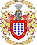 Blasco Family Crest from Spain