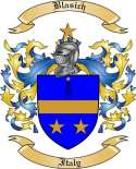 Blasich Family Crest from Italy