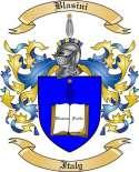 Blasini Family Crest from Italy