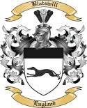 Blatswill Family Crest from England
