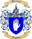 Bleuman Family Crest from England