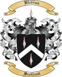 Blevins Family Crest from Scotland