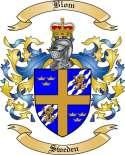 Blom Family Crest from Sweden