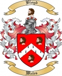 Bloyd Family Crest from Wales