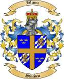 Blume Family Crest from Sweden