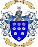 Blumen Family Crest from Germany
