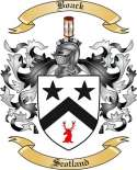 Boack Family Crest from Scotland