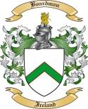 Boardman Family Crest from Ireland