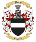 Boast Family Crest from England