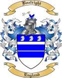 Boatright Family Crest from England