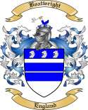 Boatwright Family Crest from England