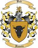 Bob Family Crest from Russia