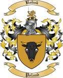 Bobak Family Crest from Poland