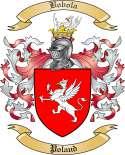 Bobola Family Crest from Poland