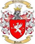 Bobrinski Family Crest from Poland