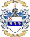 Bode Family Crest from England