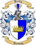 Boedig Family Crest from Germany