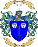 Boemanns Family Crest from Germany