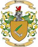 Boemme Family Crest from Germany