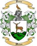 Boen Family Crest from Wales2