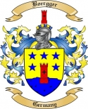 Boergger Family Crest from Germany2
