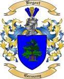 Bogart Family Crest from Germany