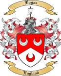 Bogas Family Crest from England