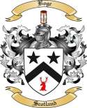 Boge Family Coat of Arms from Scotland