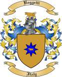 Boggetti Family Crest from Italy