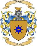 Boggi Family Crest from Italy