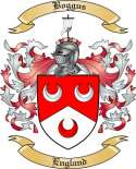 Boggus Family Crest from England