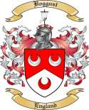 Boggust Family Crest from England