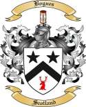 Bogues Family Crest from Scotland