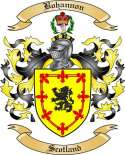 Bohannon Family Crest from Scotland