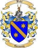 Bohl Family Crest from Germany