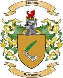 Bohme Family Crest from Germany