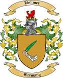 Bohmer Family Crest from Germany