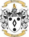 Boldison Family Crest from England
