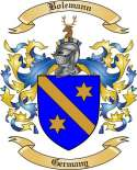 Bolemann Family Crest from Germany